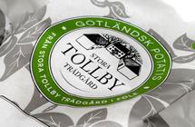 Stora Tollby Gårds nya potatispåse