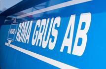 Roma Grus AB:s hemsida